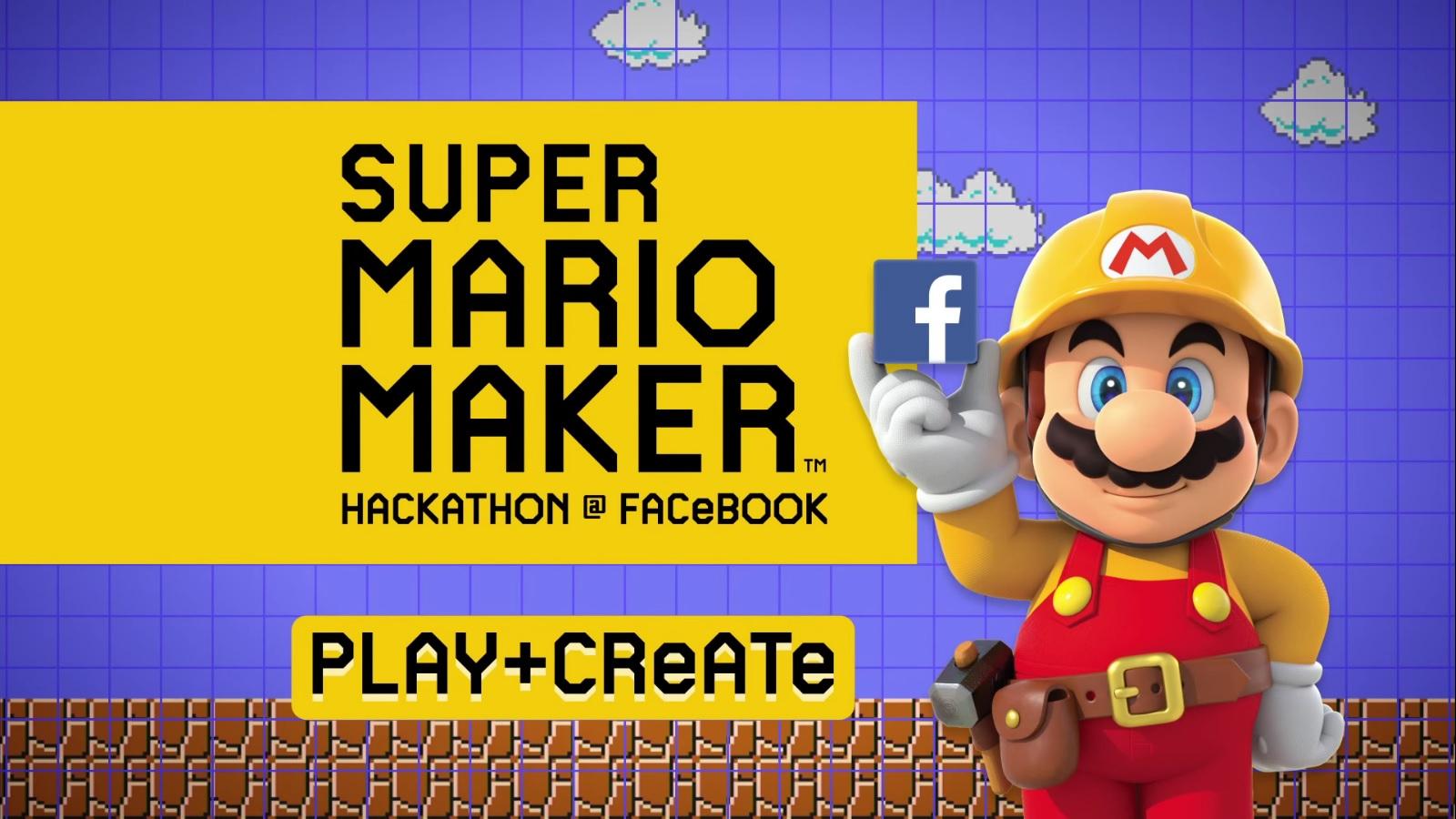 Super Mario Maker Facebook Hackathon Episode 1 Play