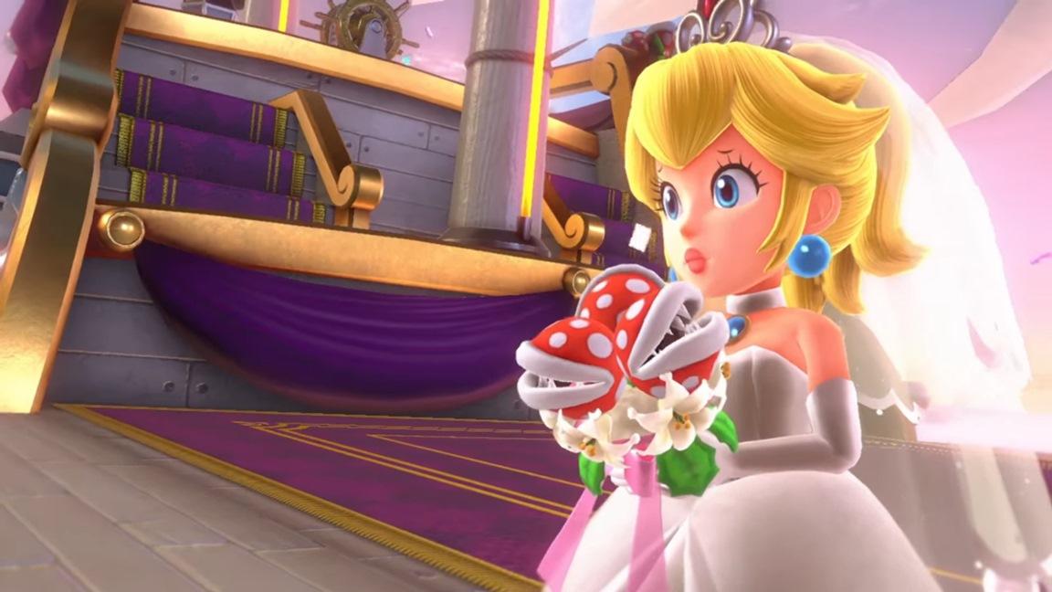 A Closer Look At Peach S Wedding Bouquet In Super Mario