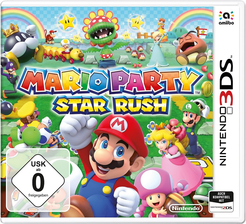 Mario Party: Star Rush gets new boxart