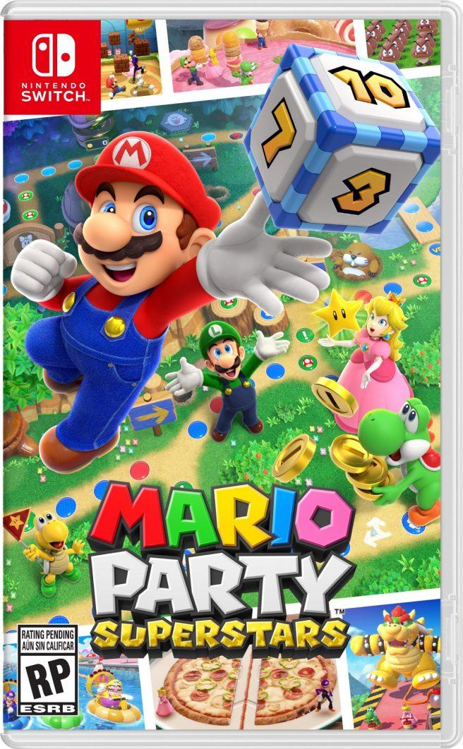 Mario Party Superstars boxart
