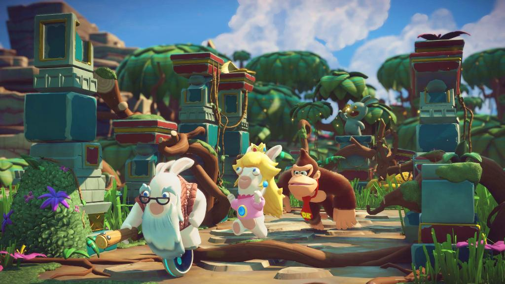 Mario + Rabbids update out now (version 1 7 561410), Donkey Kong