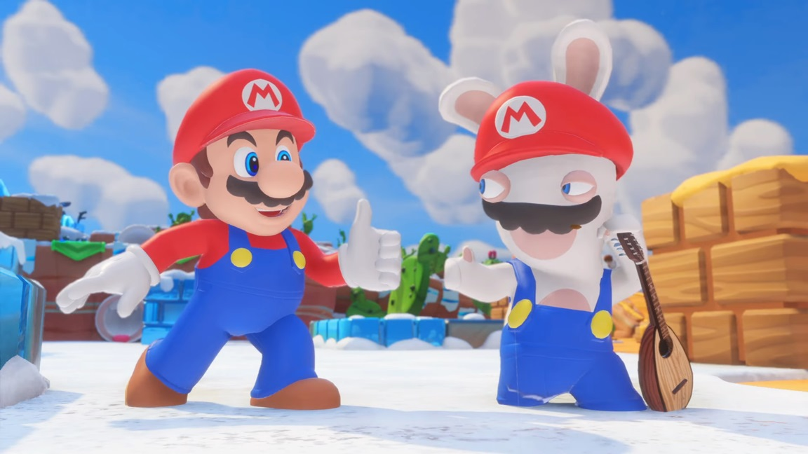 get free mario rabbids with purchase of switch at best buy