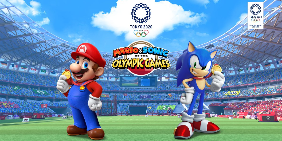 New characters revealed for Mario & Sonic at the Olympic
