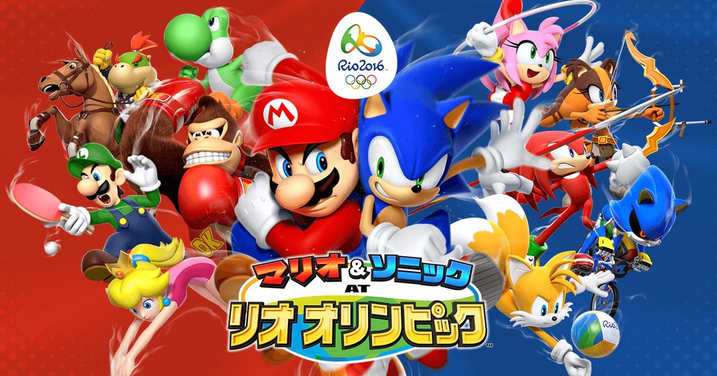 mario sonic at the rio 2016 olympic games 3ds details sports