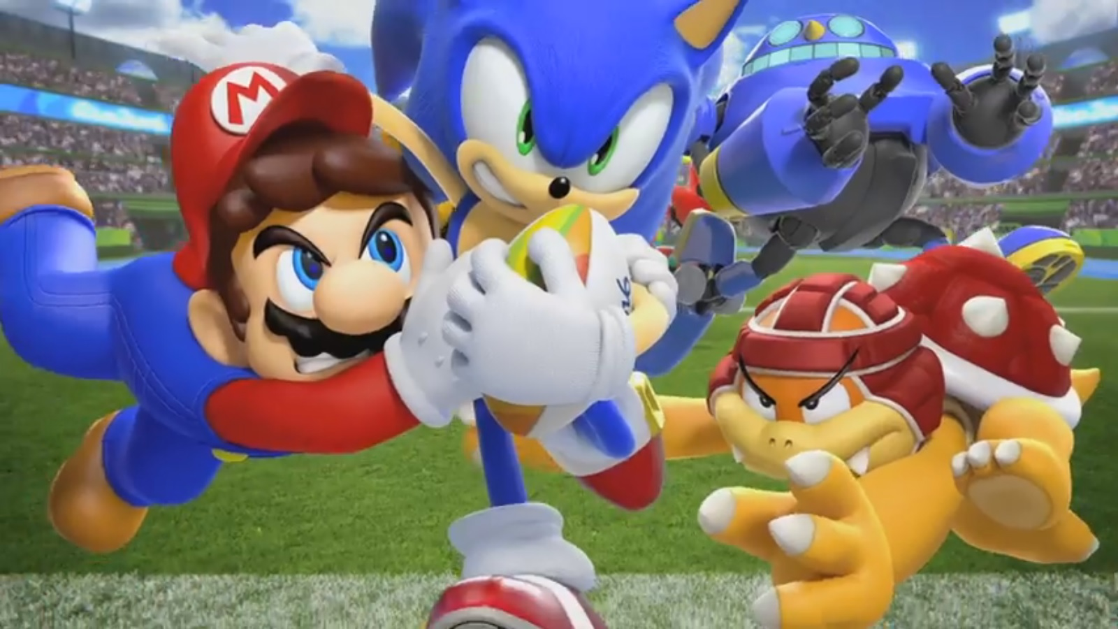 mario sonic at the rio 2016 olympic games wii u commercial
