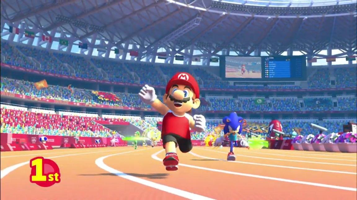 mario sonic olympic games 2020
