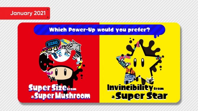 Splatoon 2 - Super Mario-themed Splatfest