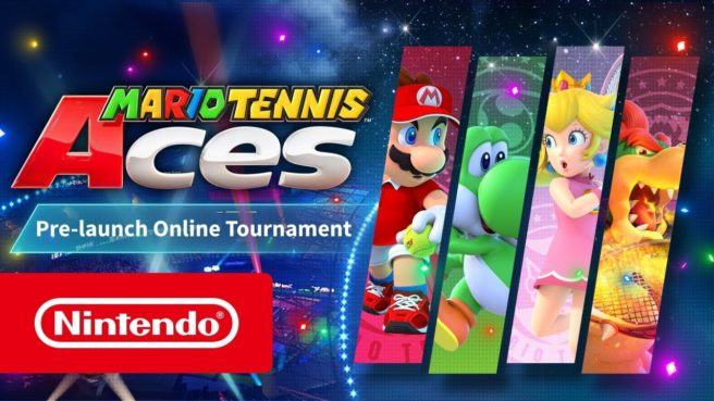 Mario Tennis Aces Pre-launch Online Tournament Demo