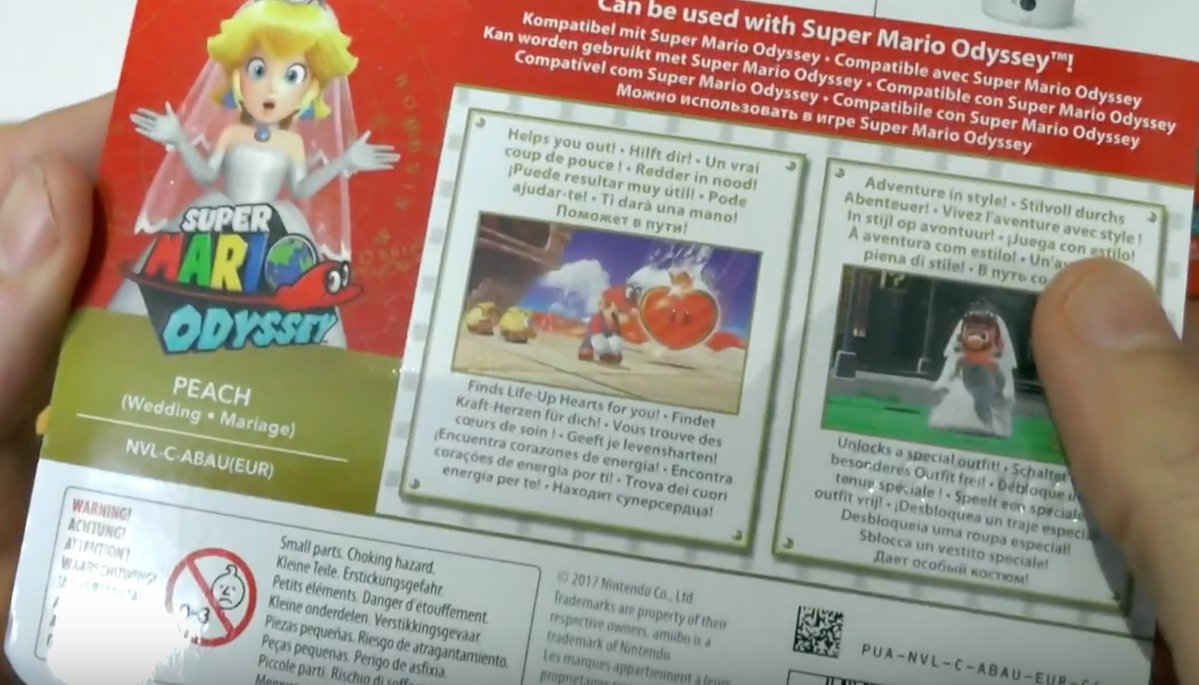 Super Mario Odyssey S New Peach Amiibo Unlocks A Bride Dress