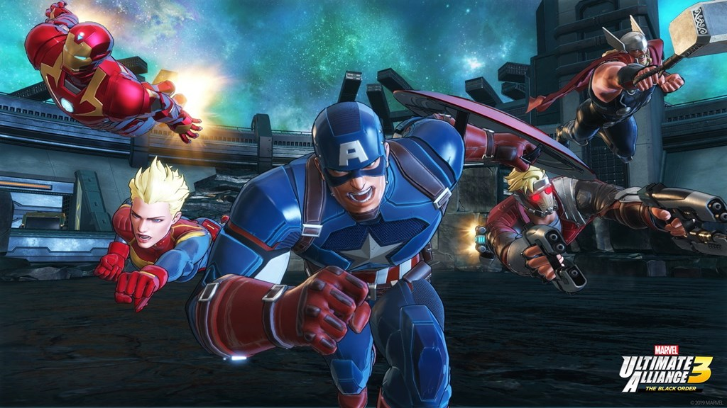 All Characters In Marvel Ultimate Alliance 3 Will Receive Alternate Outfits Through Q1 2020 Nintendo Everything Captain marvel womens jumpsuit girls cosplay costume printing bodysuit superhero. marvel ultimate alliance 3