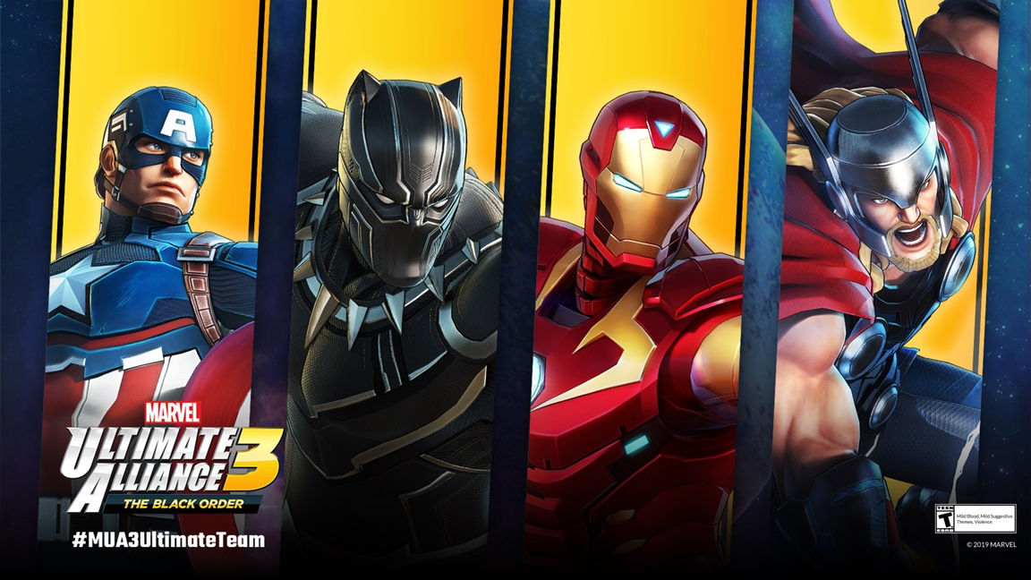 Marvel Ultimate Alliance 3 S Next Free Costumes Captain America Black Panther Iron Man And Thor Nintendo Everything A wide variety of captain marvel costume options are available to you, such as supply type, costumes type, and holiday. marvel ultimate alliance 3 s next free