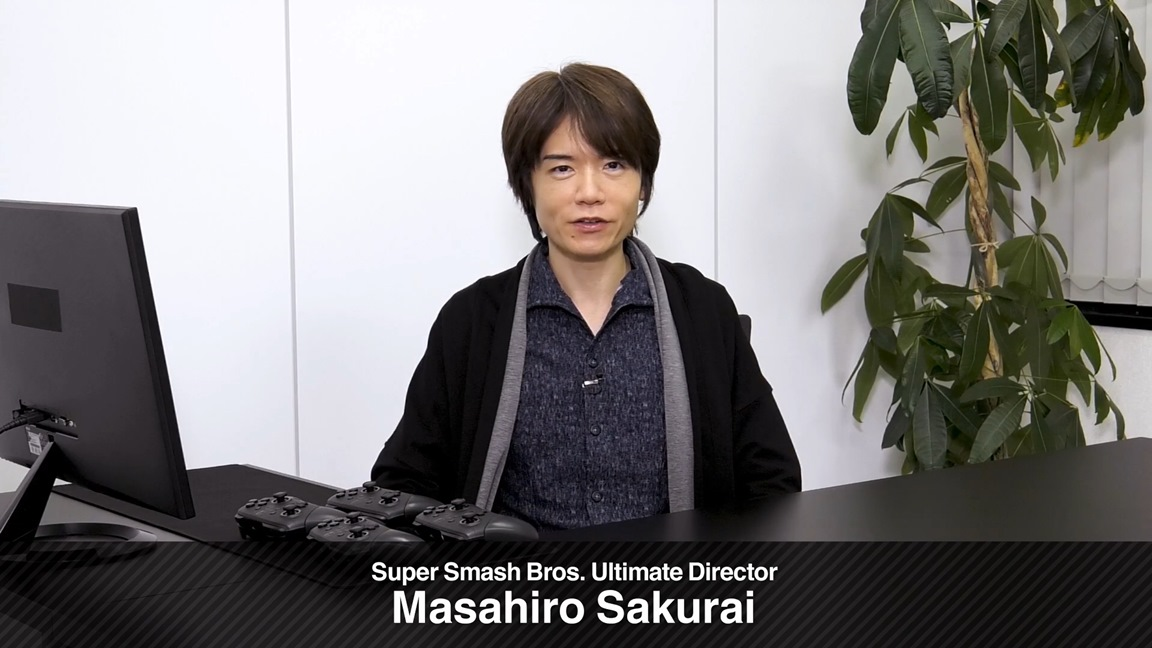 Sakurai on Smash Bros. Ultimate fighter selections, his role, future of the series, more - Nintendo Everything