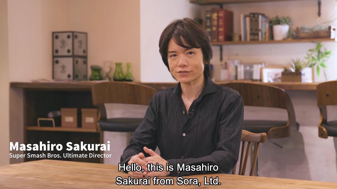 Sakurai on Smash Bros  Ultimate - his health, choosing bosses and