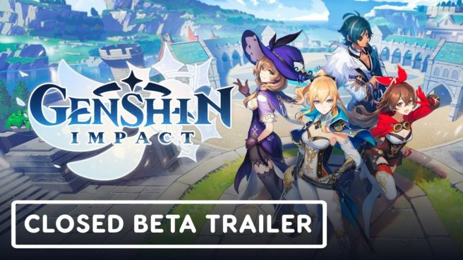 Genshin Impact closed beta mobile and PC announcement ...