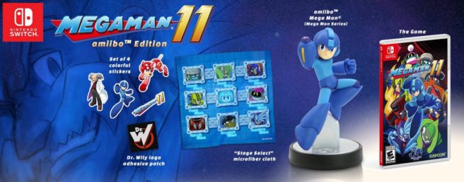 Mega Man 11 amiibo Edition coming to North America