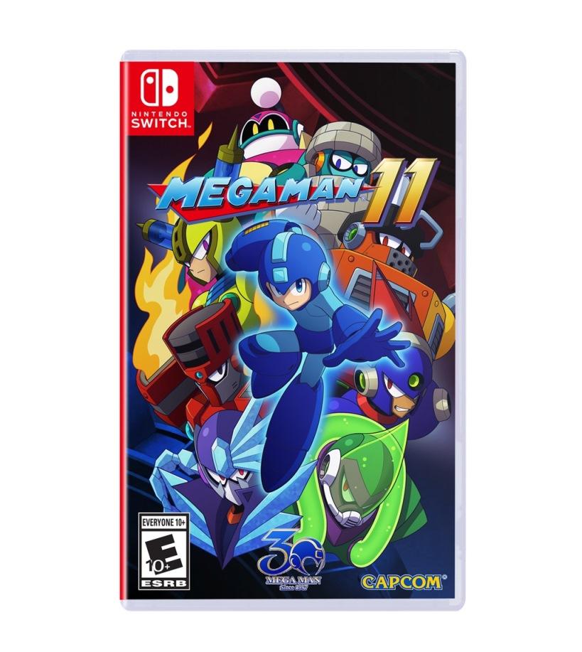 Mega Man 11 Boxart Screenshots Art