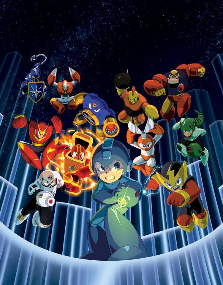 Mega Man Legacy Collection live stream footage - Nintendo