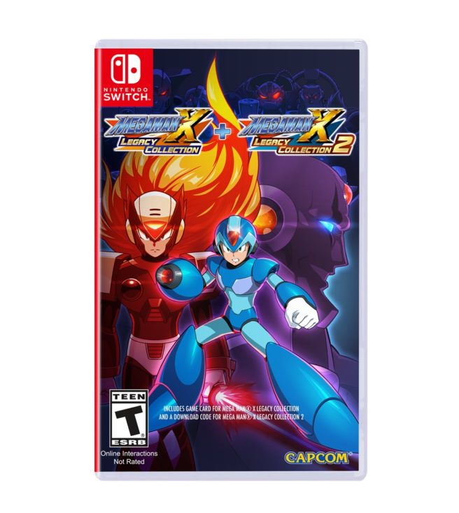 Mega Man X Legacy Collection boxart