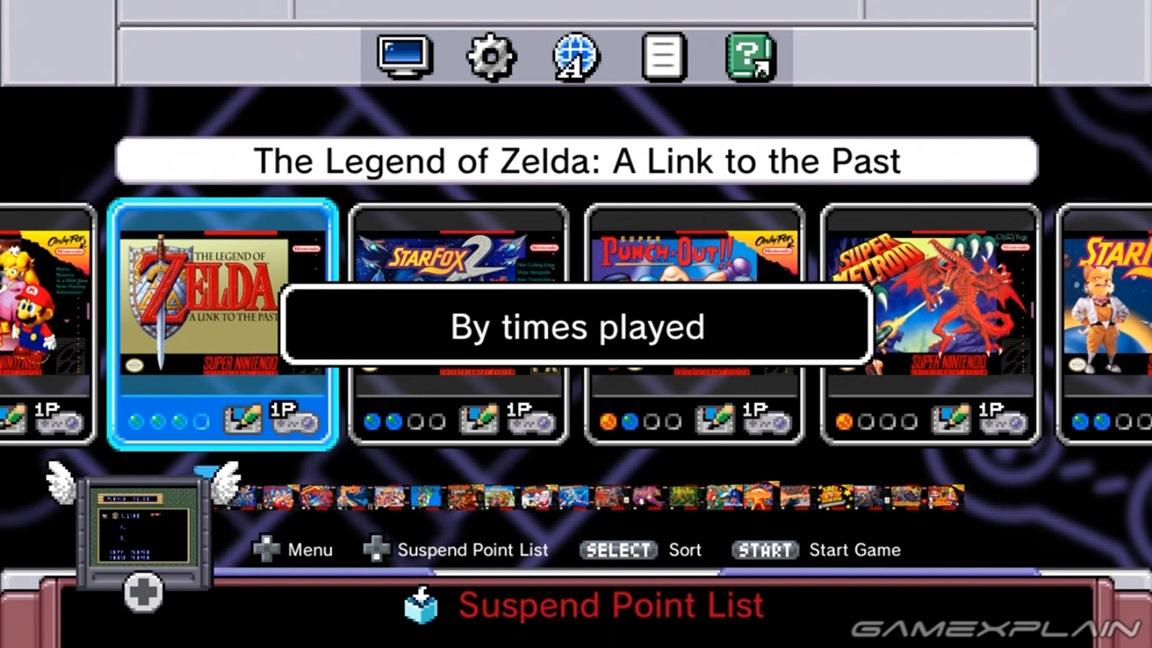 Video: A look at the Super NES Classic Edition menu - Nintendo