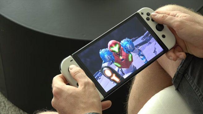 Metroid Dread OLED