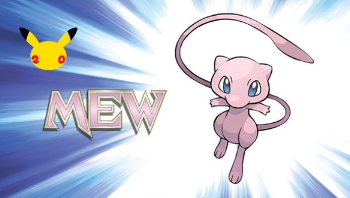 Mew codes going out to North American Pokemon newsletter