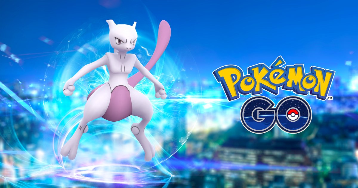 pokemon go mewtwo appearing soon in exclusive raid. Black Bedroom Furniture Sets. Home Design Ideas