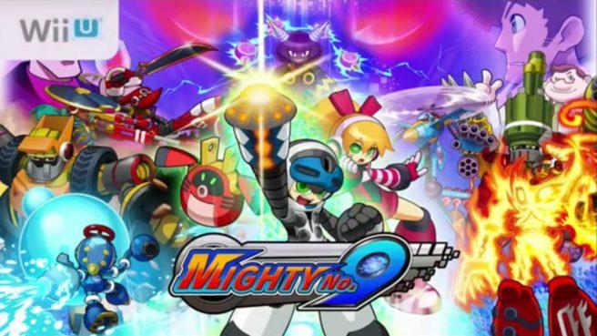 Mighty No. 9 Wii U footage