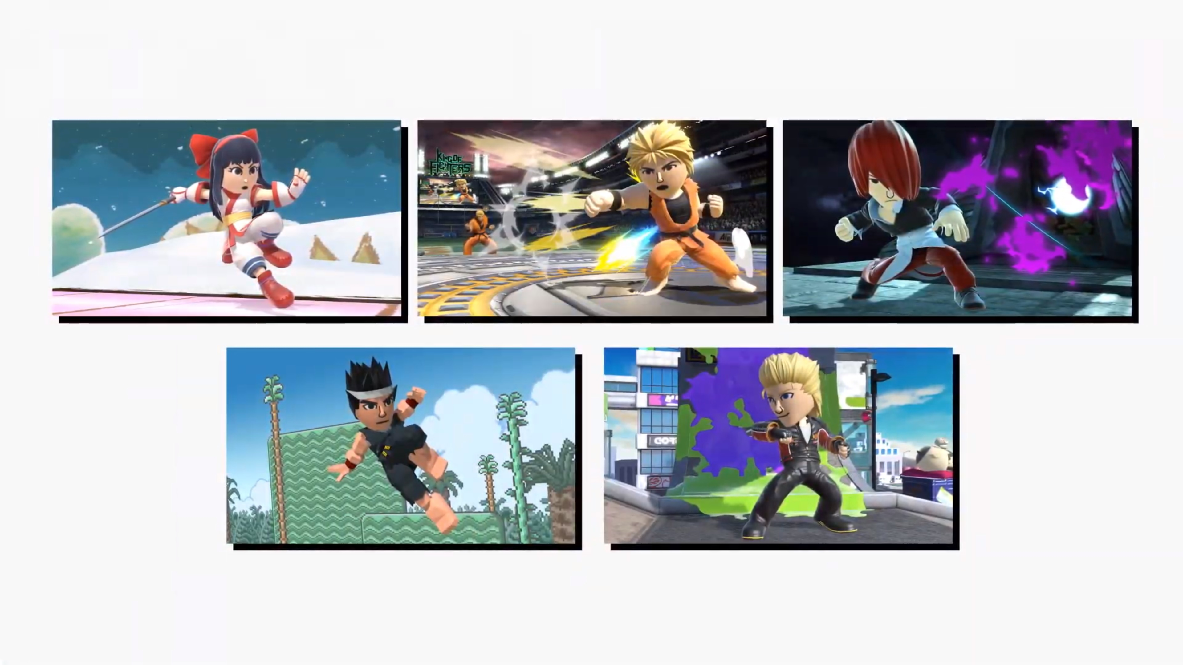 Smash Bros  Ultimate - new Mii Fighter costumes announced