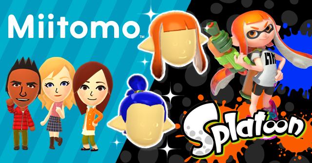 miitomo gets splatoon items and promo activities nintendo everything