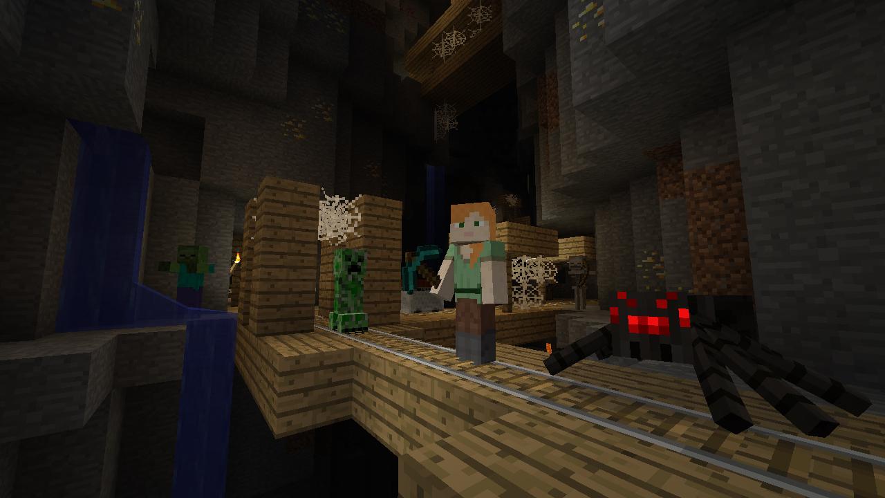Minecraft Wii U Edition Splitscreen Players Locally - Minecraft spieler online