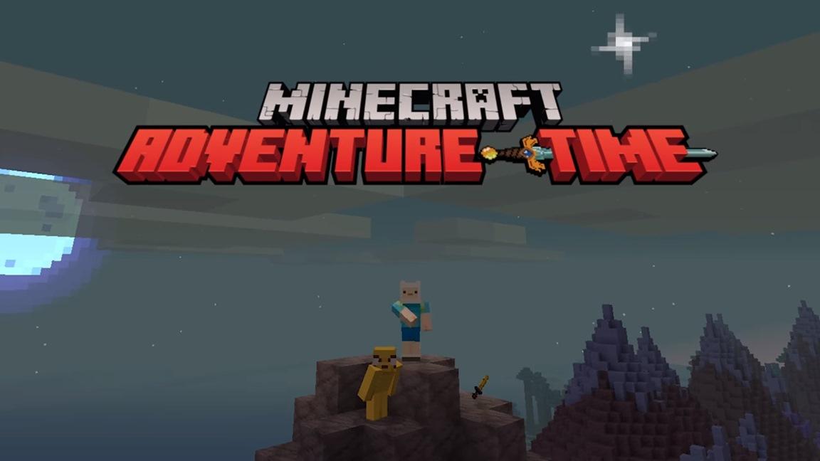 Minecraft Adventure Time DLC footage (Switch / Wii U