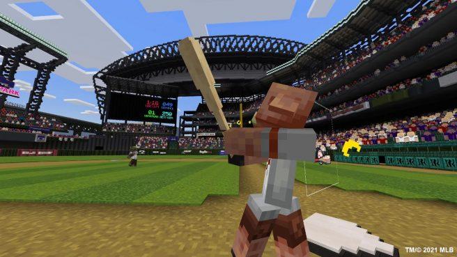 Minecraft Major League Baseball Home Run Derby DLC