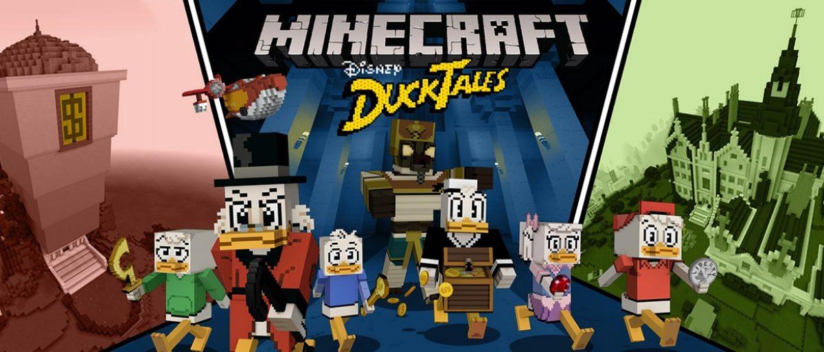 Minecraft adds new DuckTales DLC