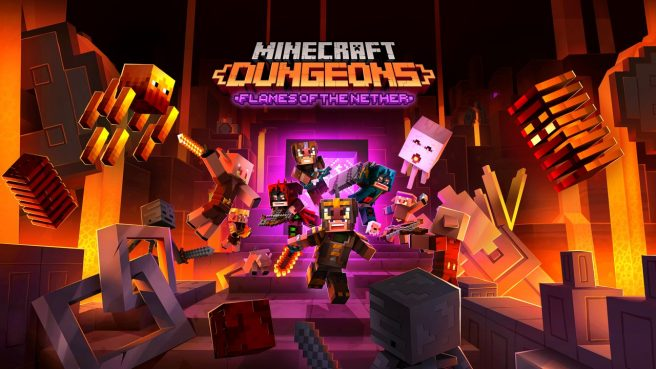 Minecraft Dungeons - Flames of the Nether DLC