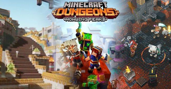 Minecraft Dungeons - Howling Peaks DLC
