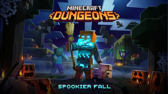 minecraft dungeons spookier fall 2021