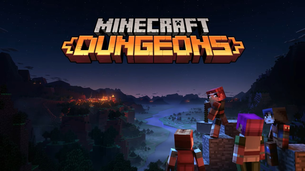 Video: Minecraft Dungeons extended gameplay demo Nintendo Everything