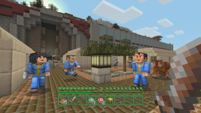 Minecraft Wii U Edition Patch 18 Incoming Nintendo Everything