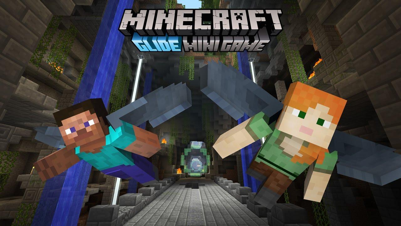 Minecraft Wii U Edition New Glide Mini Game Maps Footage - Maps fur minecraft wii u