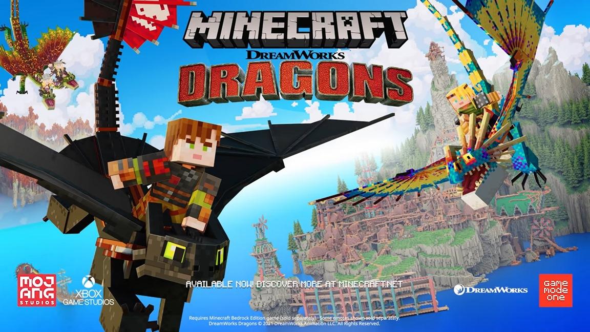 Minecraft - DreamWorks How to Train Your Dragon DLC