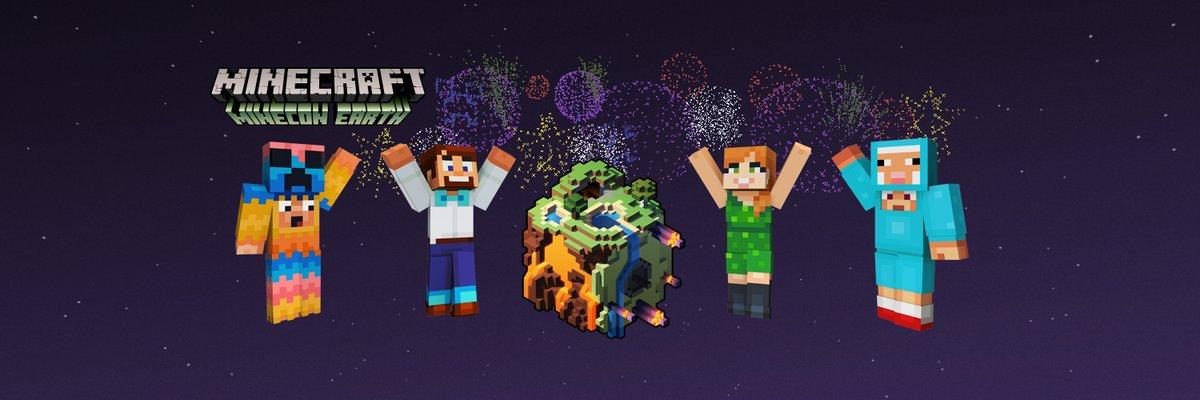 Minecraft Adds Minecon Earth Skin Pack On Switch And Wii U - Skins para minecraft wii u