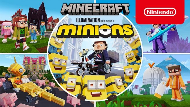 Mincraft Minions DLC