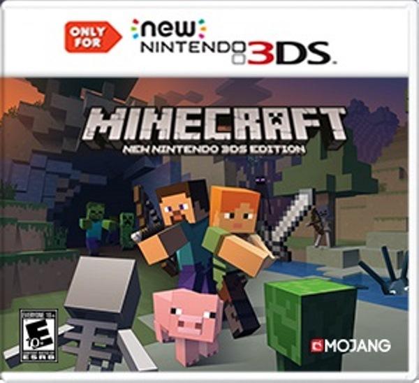 Minecraft: New 3DS Edition boxart, screenshots - Nintendo ...
