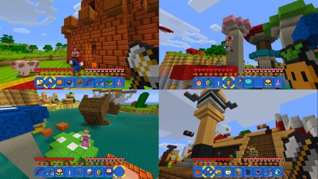 minecraft switch review 2018