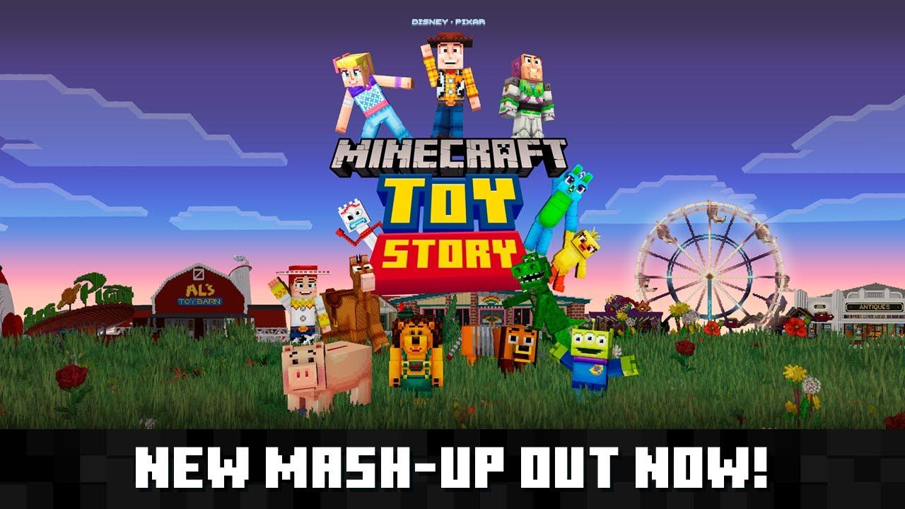 Minecraft - Toy Story Mash-Up Pack trailer - Nintendo Everything