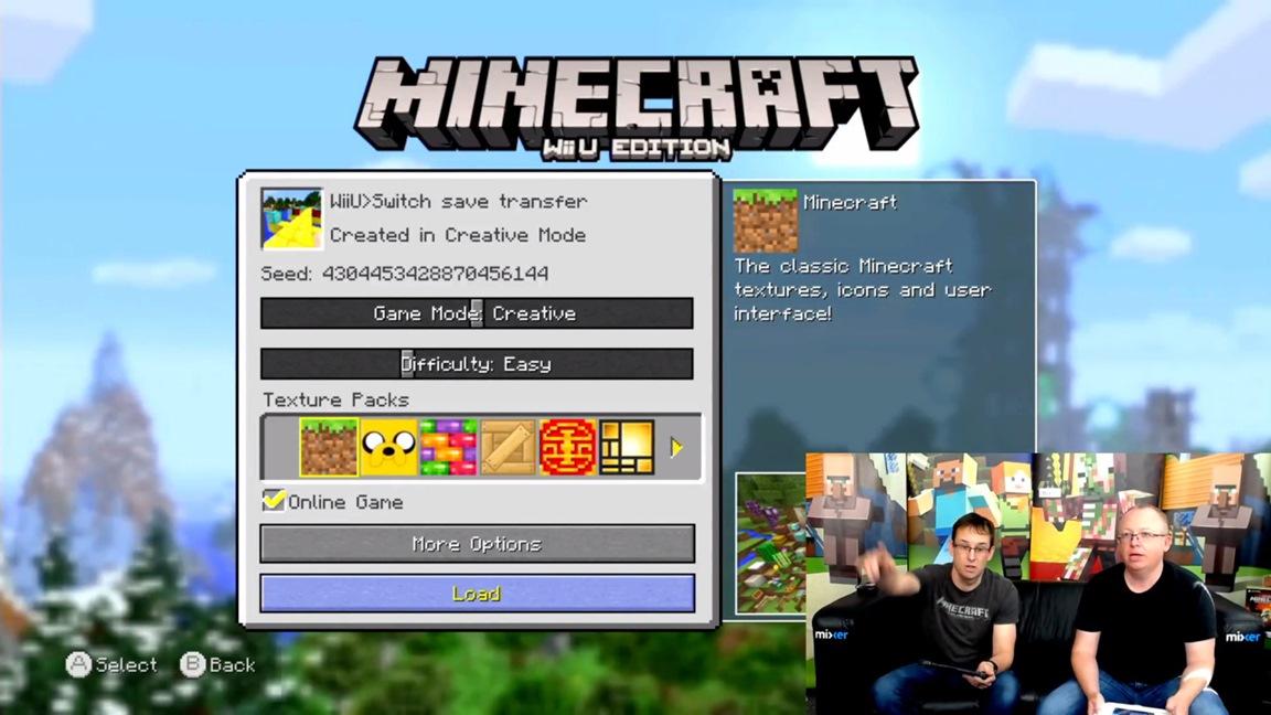 minecraft on switch online