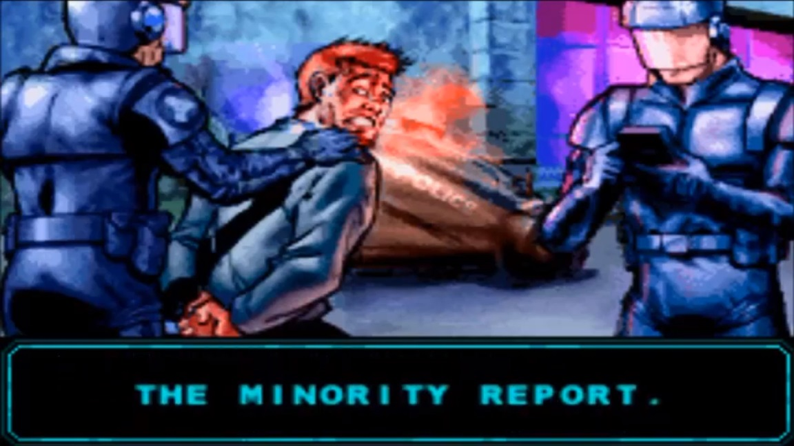 Steven Spielberg wanted Minority Report GBA game to have guns removed