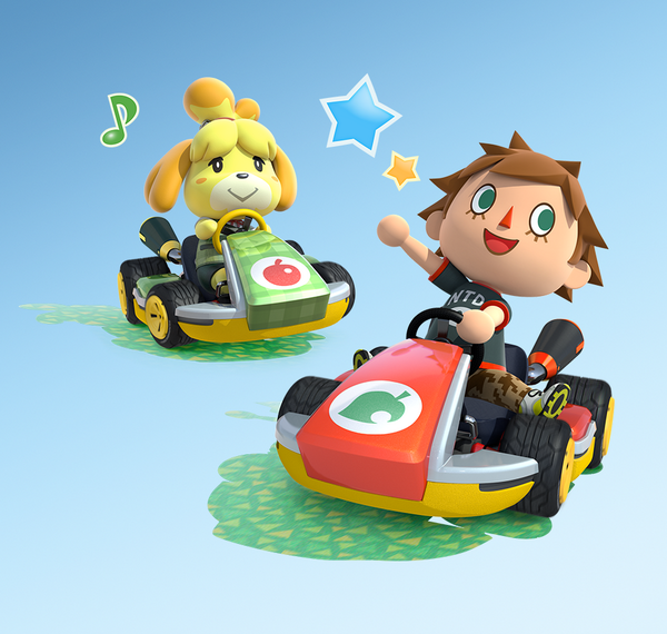 Mario Kart 8 - Animal Crossing DLC art - Nintendo Everything