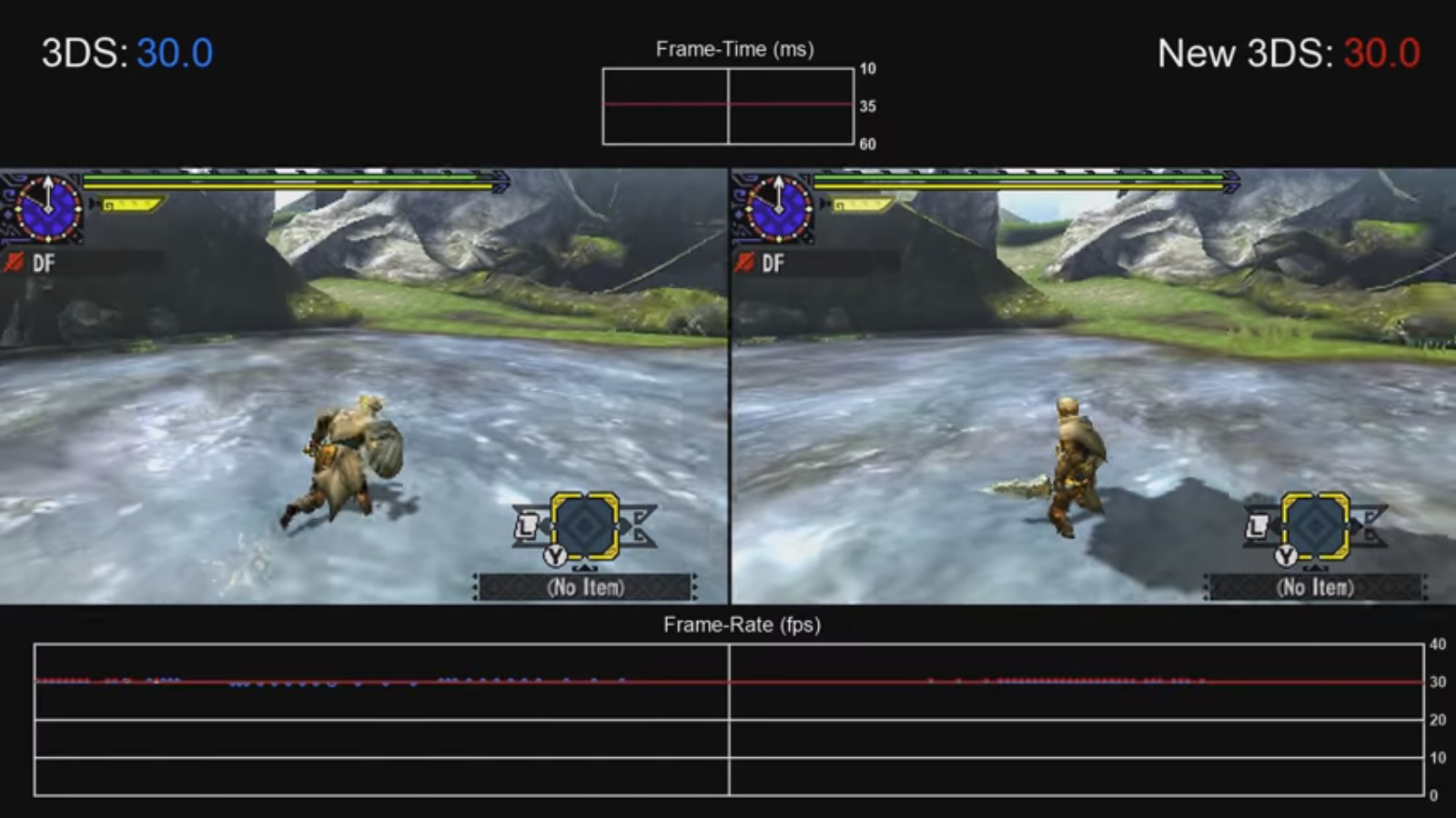 Monster Hunter Generations - New 3DS / 3DS frame rate test and ...