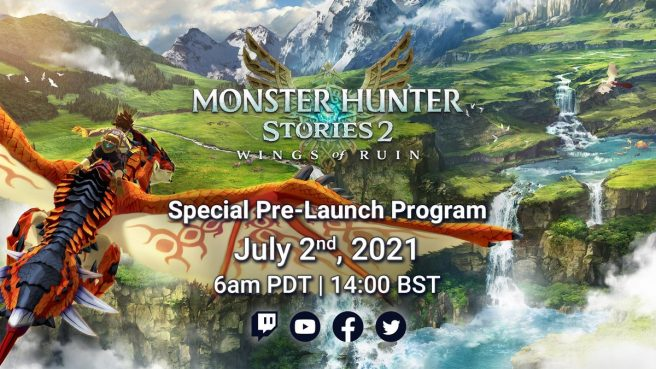 Monster Hunter Stories 2: Wings of Ruin Special Pre-Launch Program